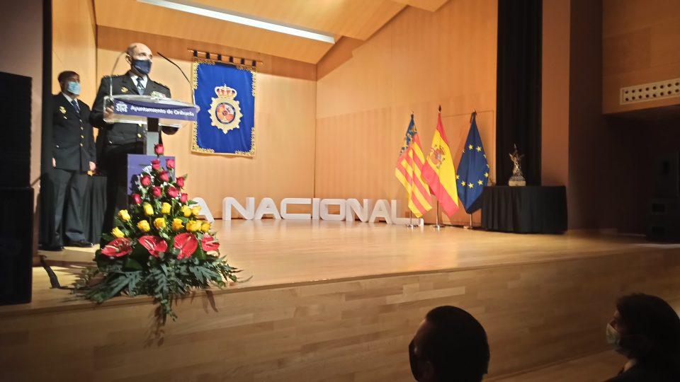 Reconocimiento de la Policía Nacional de Orihuela por la festividad de su patrón, los Ángeles Custodios 6