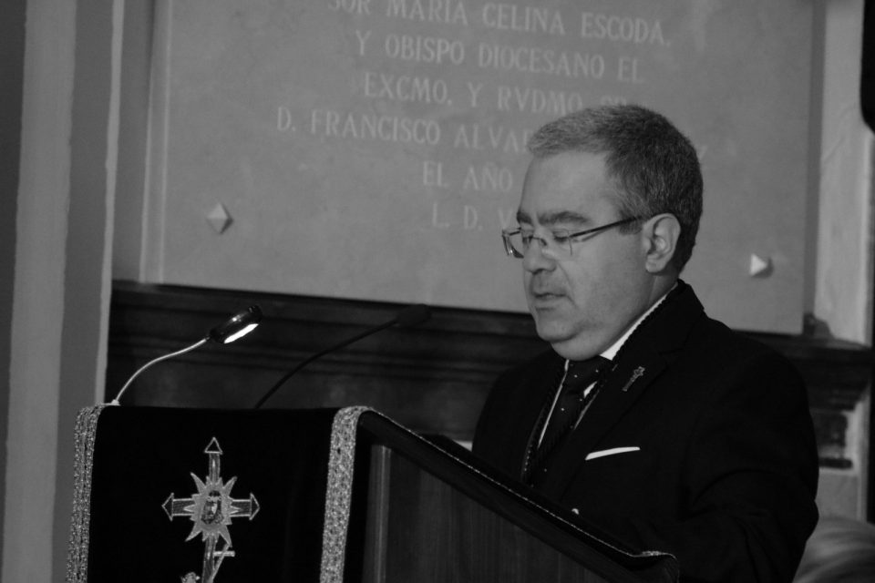 Javier Martínez Ferrándiz, nuevo Hermano – presidente del Cristo de Zalamea 6