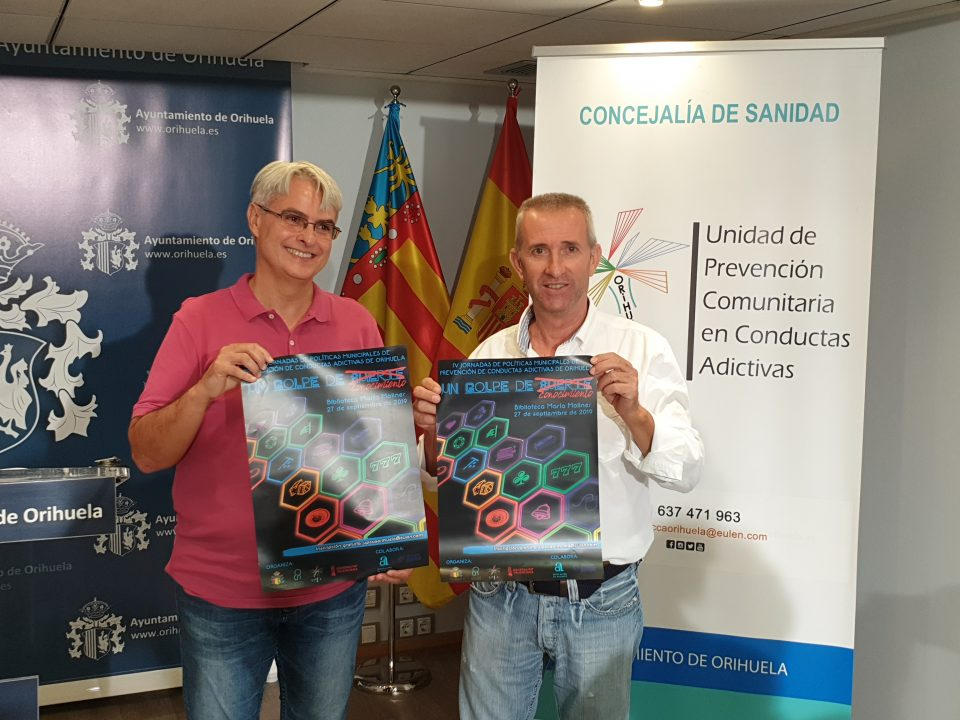 Orihuela celebra este viernes sus IV Jornadas de Prevención de Conductas Adictivas 6