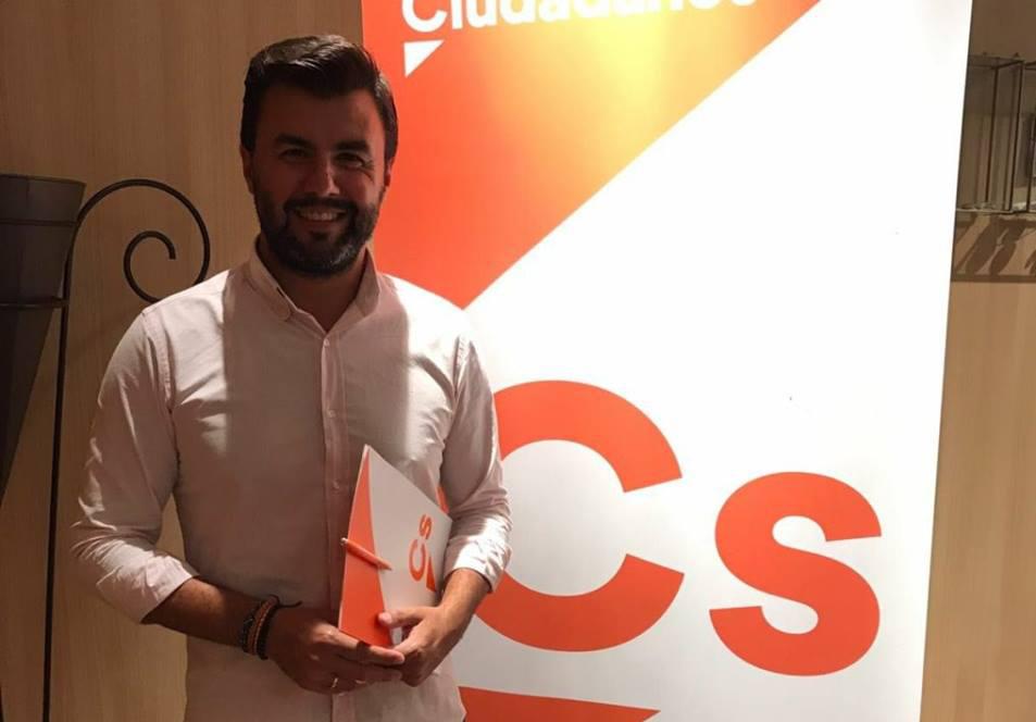 José Aix, elegido como secretario de Organización de Cs en la provincia 6
