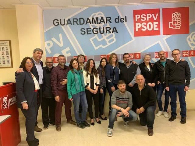 José Luis Sáez repetirá al frente del PSOE de Guardamar en las elecciones 6