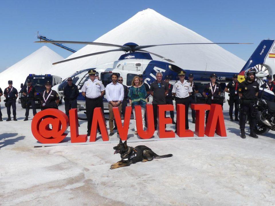 Los cuerpos de seguridad refuerzan el dispositivo para La Vuelta 6