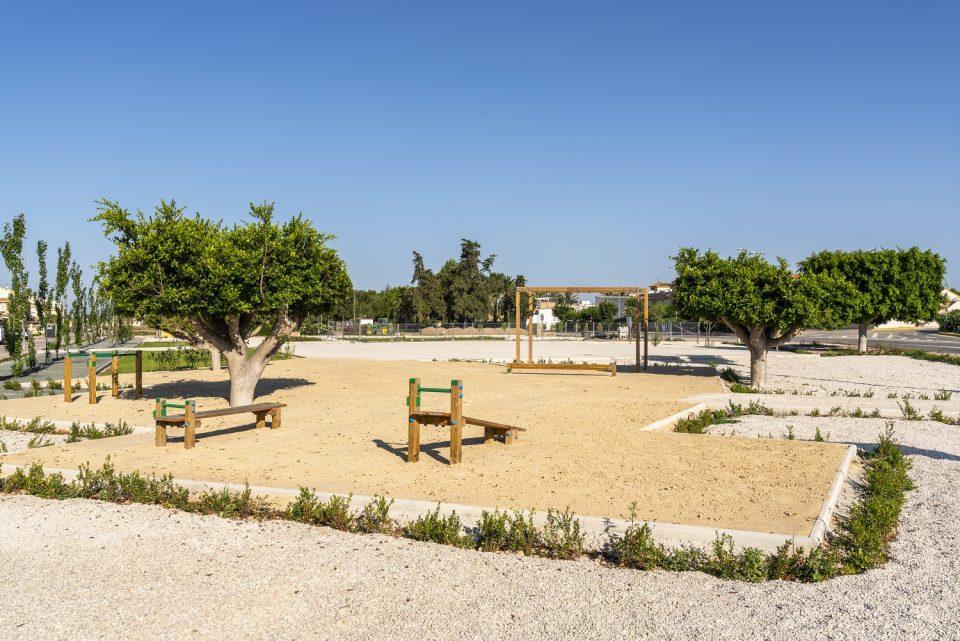 Parque La Puebla, un espacio verde en Daya Nueva creado para acabar con las inundaciones 6
