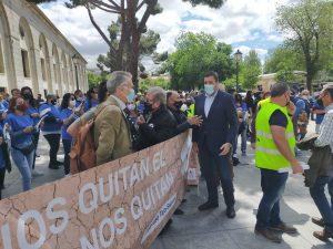Multitudinaria manifestación en Madrid en defensa del Trasvase Tajo Segura 10