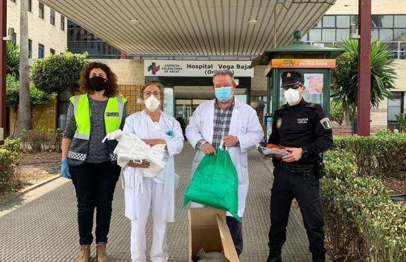 El Departamento de Salud de Orihuela agradece las donaciones recibidas durante la pandemia 6