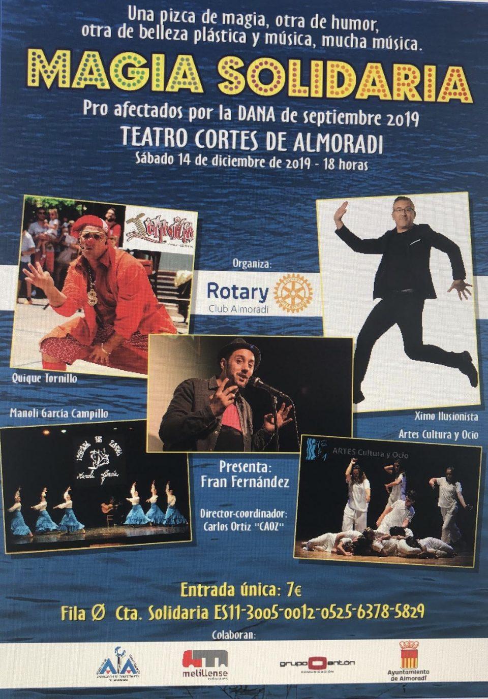 Magia solidaria por la DANA desde el Rotary Club de Almoradí 6
