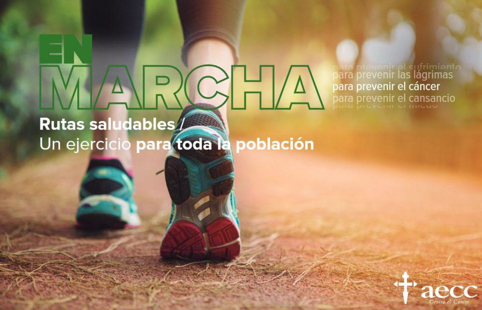 La Asociación Española Contra el Cáncer de Orihuela anima a participar en las Rutas Saludables 6
