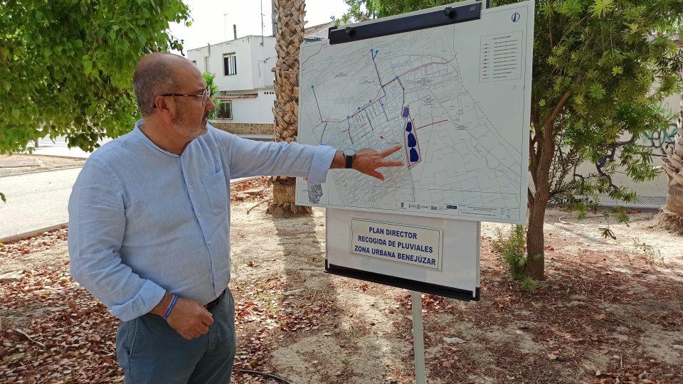 El plan director de recogida de puviales de Benejúzar contempla un jardín con cuatro estanques 6