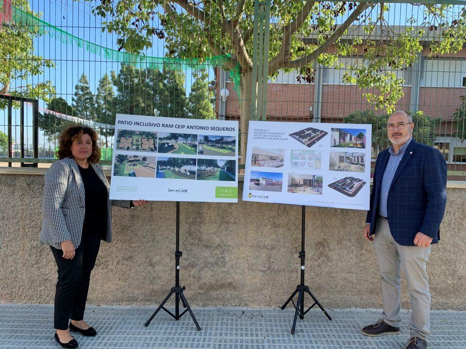 Benejúzar remodelará la escuela infantil y convertirá en inclusivo el patio de CEIP Antonio Sequeros 6