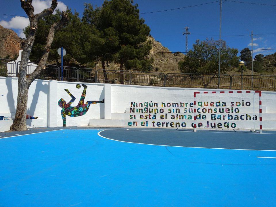 Poesía y fútbol unidos por Orihuela 6