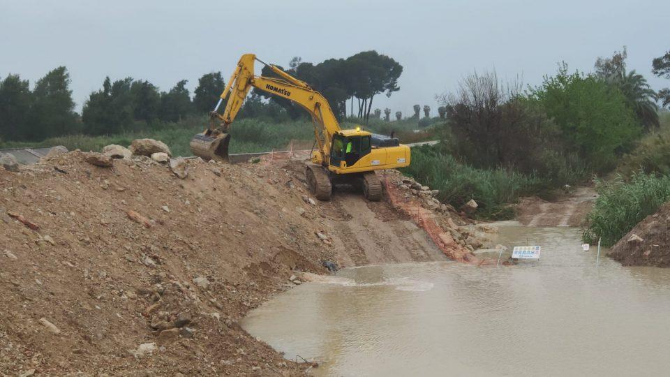 La CHS asegura que las obras del cauce del río en Almoradí no suponen riesgos 6