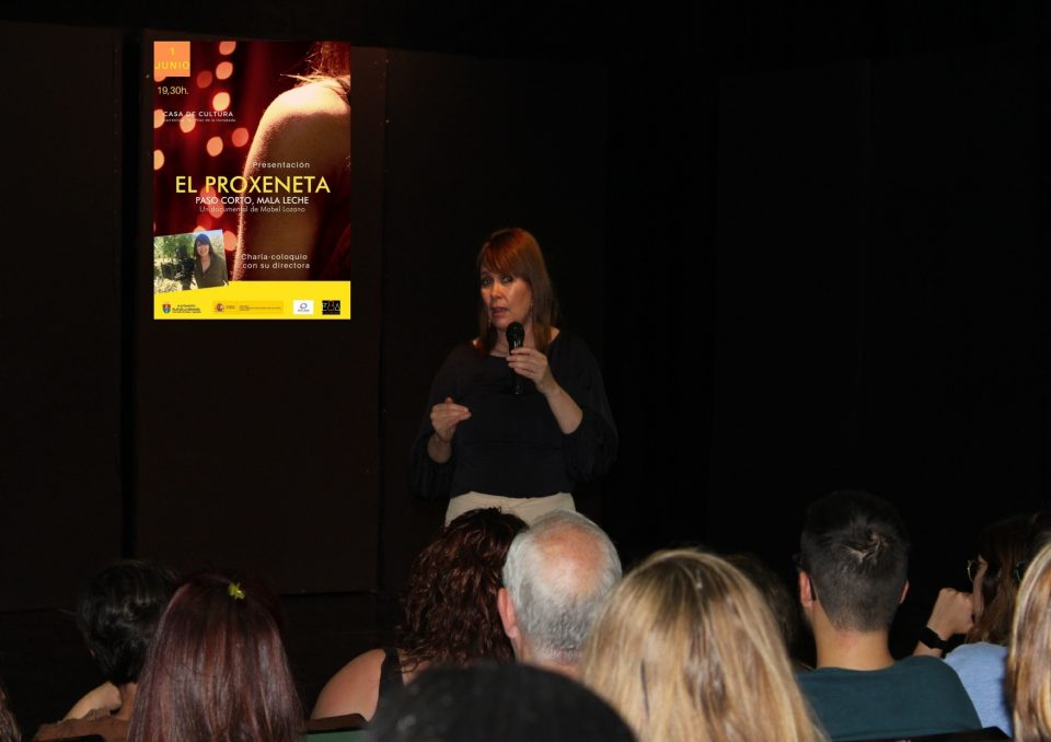 "Mabel Lozano presenta su documental ""El Proxeneta"" 6"