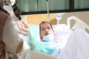El Hospital de Torrevieja alegra y emociona a sus pacientes en unas navidades diferentes 7