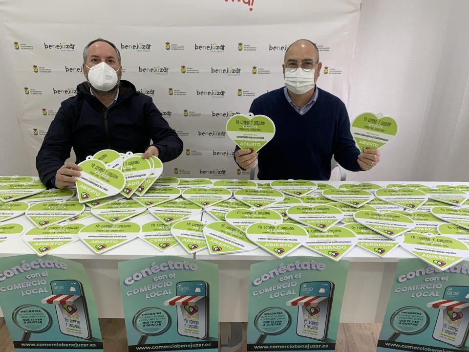 """Benejúzar lanza la campaña """"Conéctate con el comercio local"""" 6"""