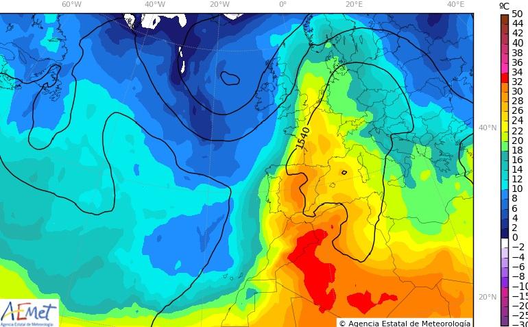 La Vega Baja notará la ola de calor con intensidad el fin de semana 6