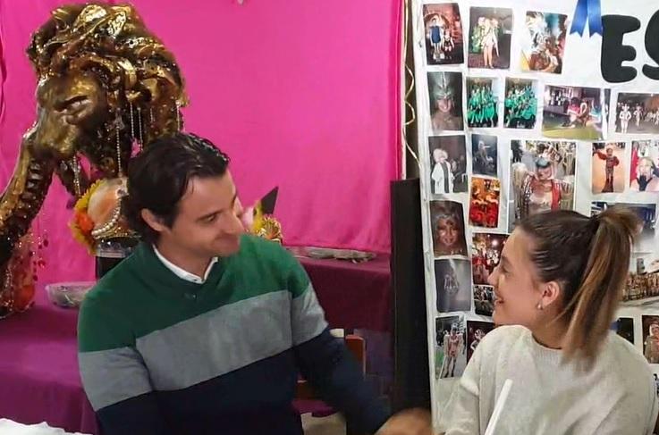 María García, vicesecretaria de Organización de NNGG en la lista de Dolón 6