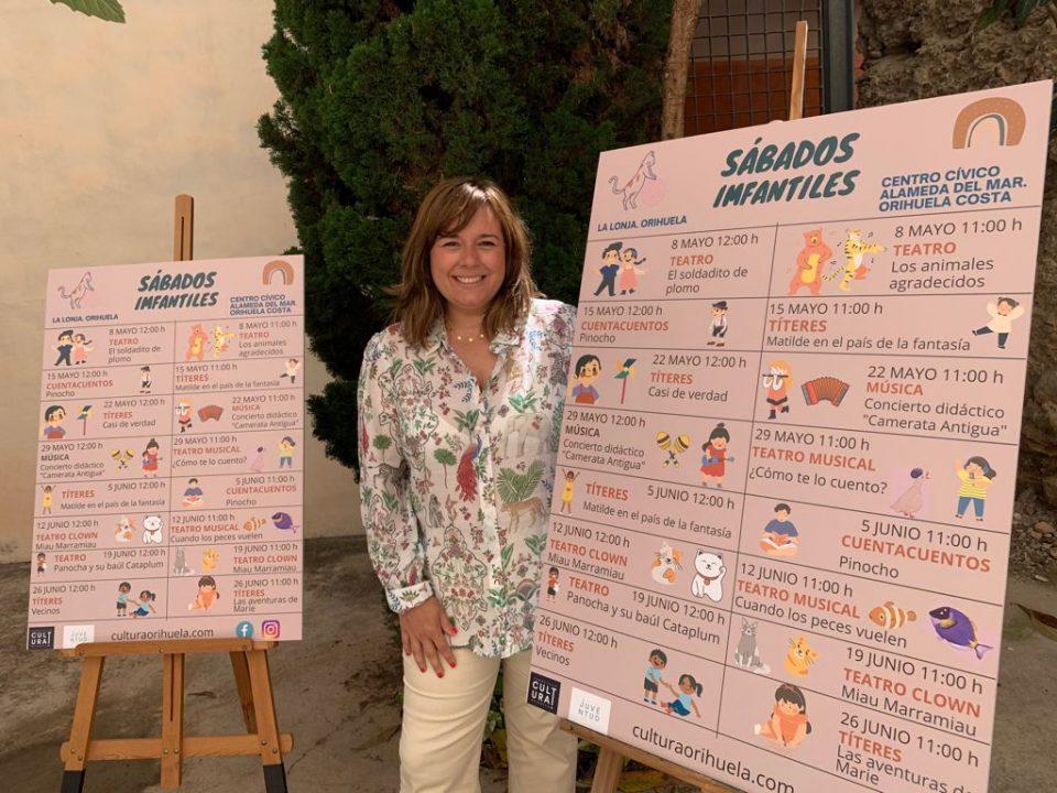 Cultura Orihuela programa actividades infantiles gratuitas los sábados 6