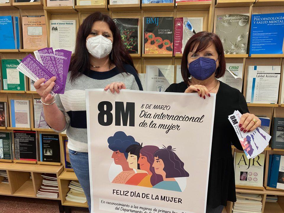 Homenaje a las mujeres que han estado en primera línea Covid en el Dpto. de Salud de Orihuela 6