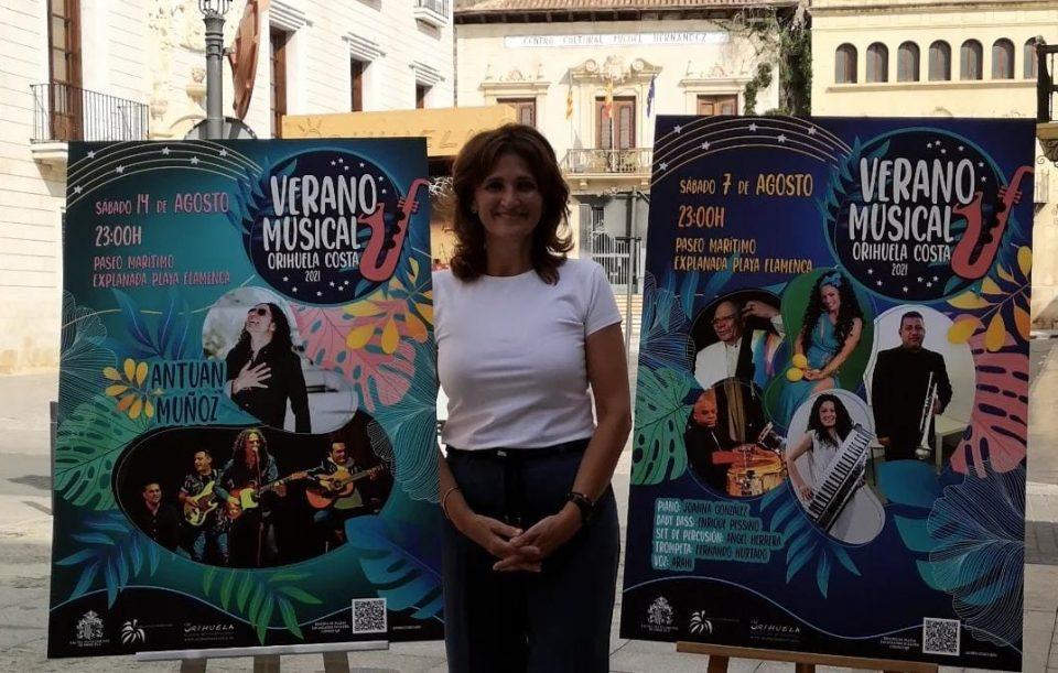 """El ritmo cubano y el flamenco en el """"Verano musical"""" de Orihuela Costa 6"""