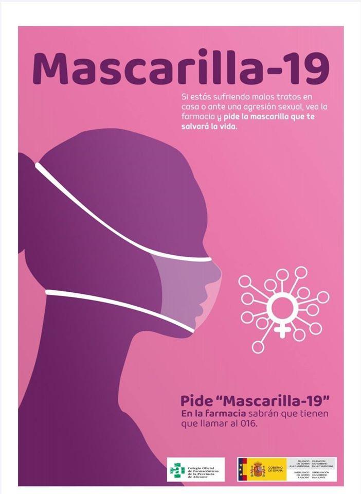 """Las farmacias luchan contra la violencia de género con la """"Mascarilla 19"""" 6"""