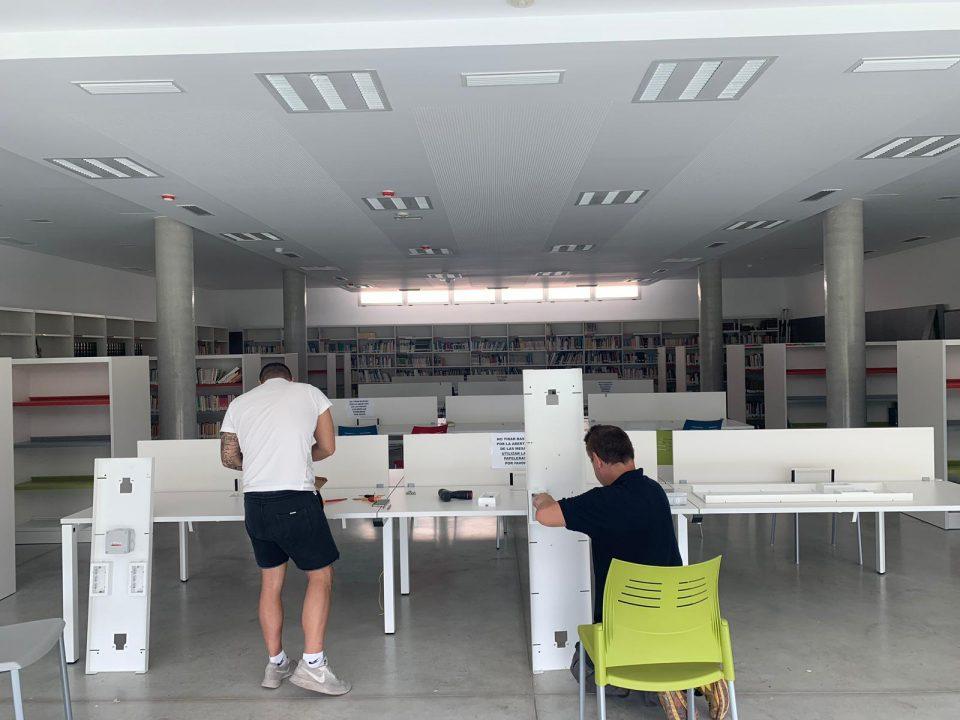 El Ayuntamiento de Benejúzar invierte en mejoras en la biblioteca y en la zona de petanca 6