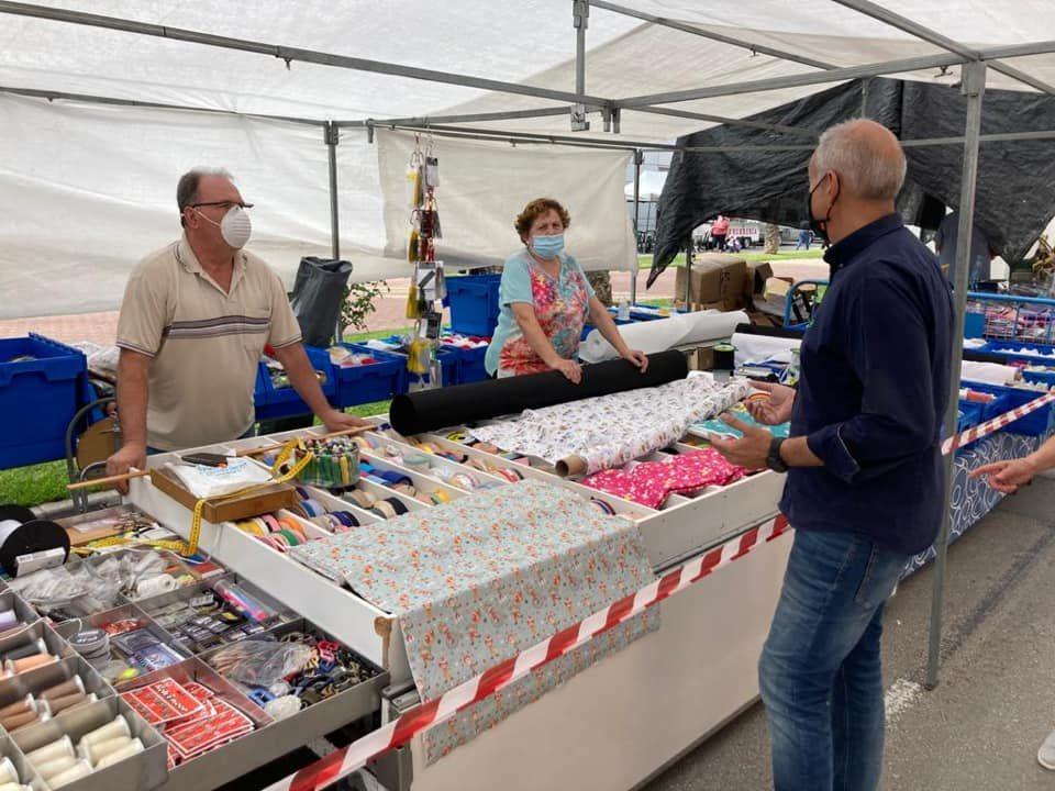 Orihuela recibe una ayuda para los gastos de las medidas sanitarias en mercadillos 6