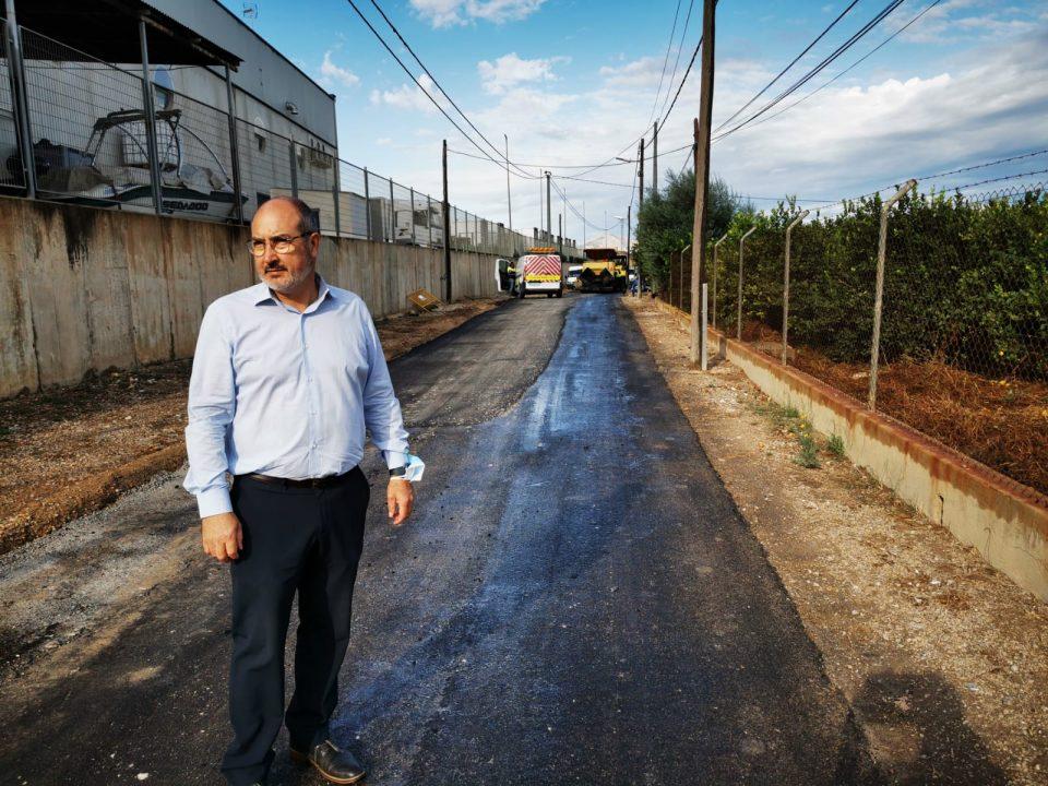 Comienzan las obras de reparación del camino viejo de Almoradí en el término municipal de Benejúzar 6