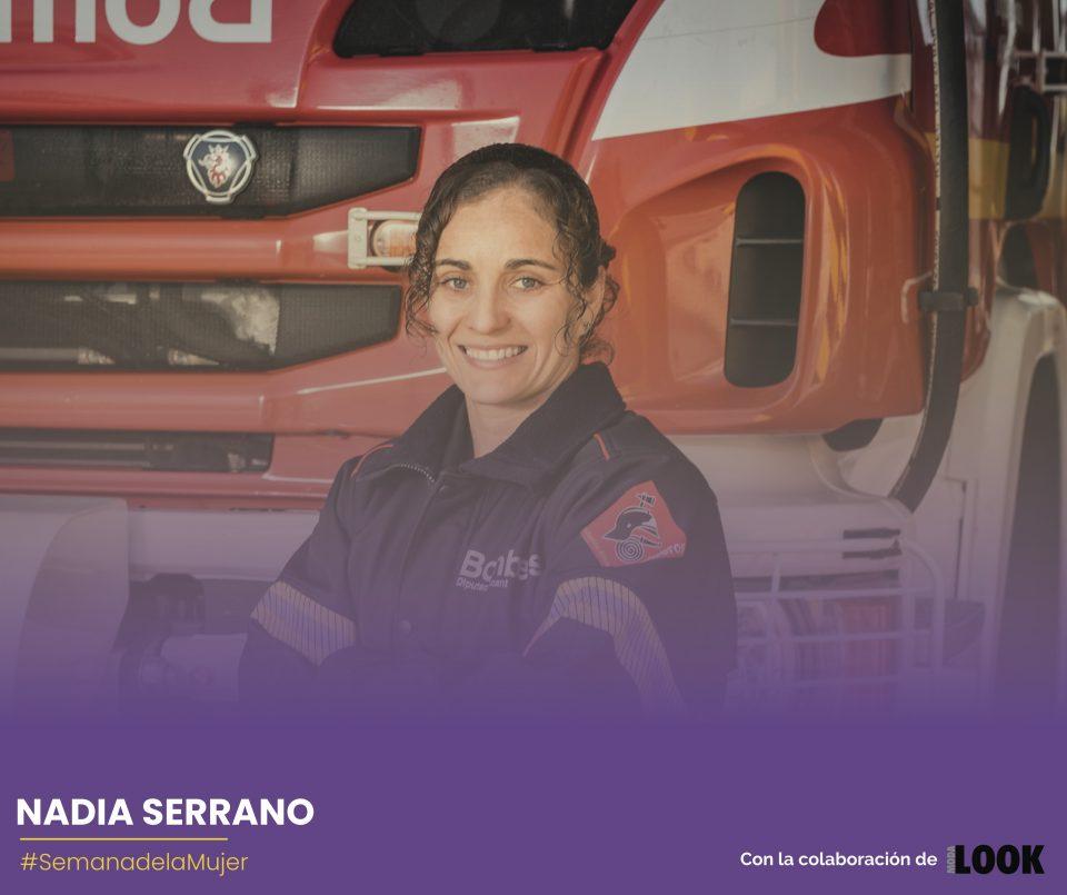 """Nadia Serrano: """"Es triste que las niñas te pregunten si las mujeres pueden ser bomberas"""" 6"""