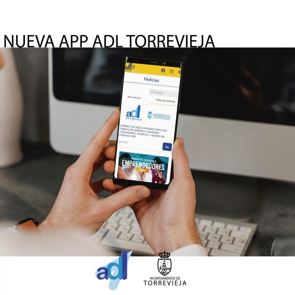 La Agencia de Desarrollo Local de Torrevieja presenta nueva web y APP 6