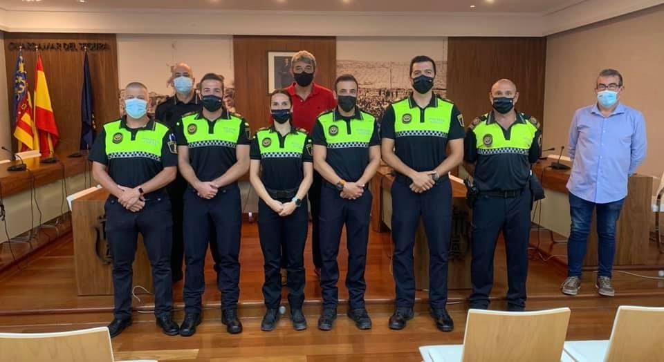 La Policía Local de Guardamar incrementa su plantilla con cinco nuevos agentes 6
