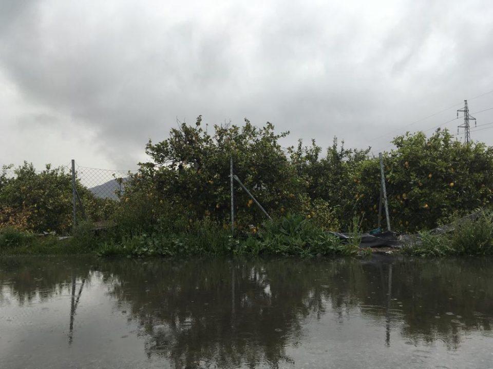 La lluvia deja cerca de los 20 l/m2 en varios puntos de la Comarca 6