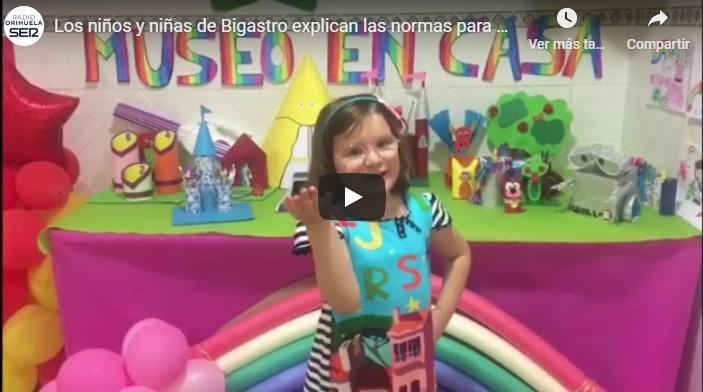 Los pequeños de Bigastro cuentan en un vídeo las normas para salir a pasear 6