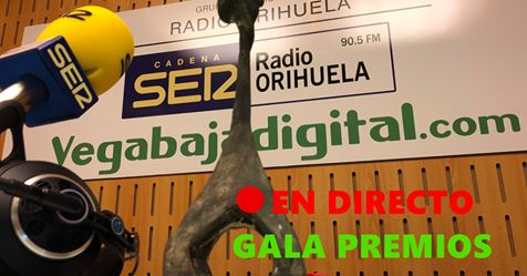 Sigue en Directo la Gala de entrega de los Premios Radio Orihuela 6