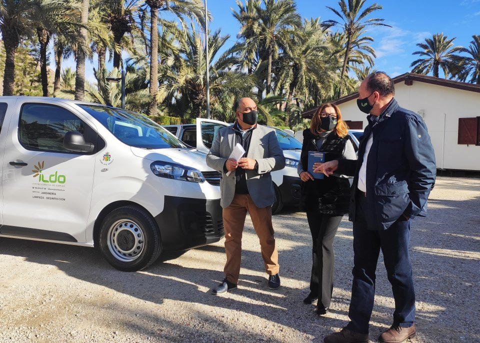 ILDO cuenta con tres nuevas furgonetas tras perderlas en la DANA 6