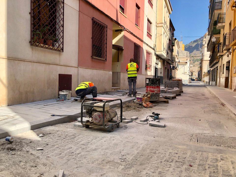 Las obras del Barrio del Rabaloche supondrán una inversión de más de 400.000 euros 6