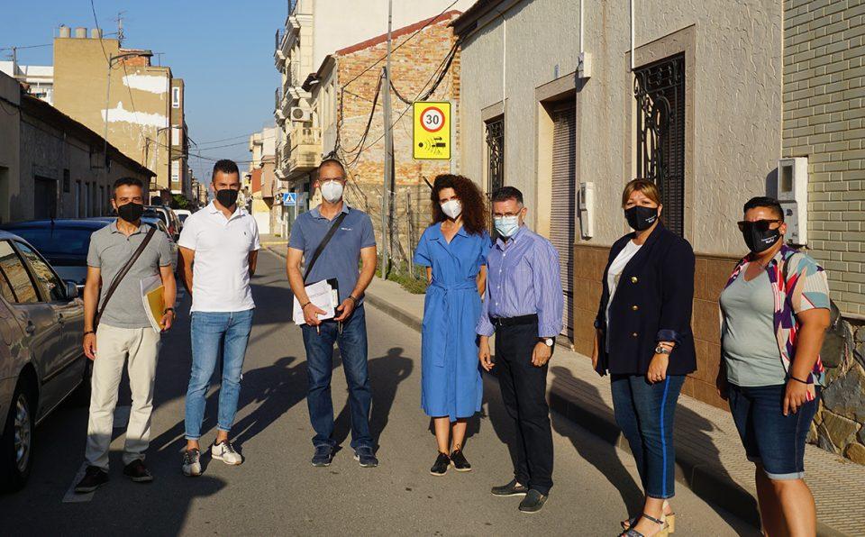 Rafal inicia las obras de rehabilitación en la calle Hermanos Rodríguez para mejorar la seguridad vial 6