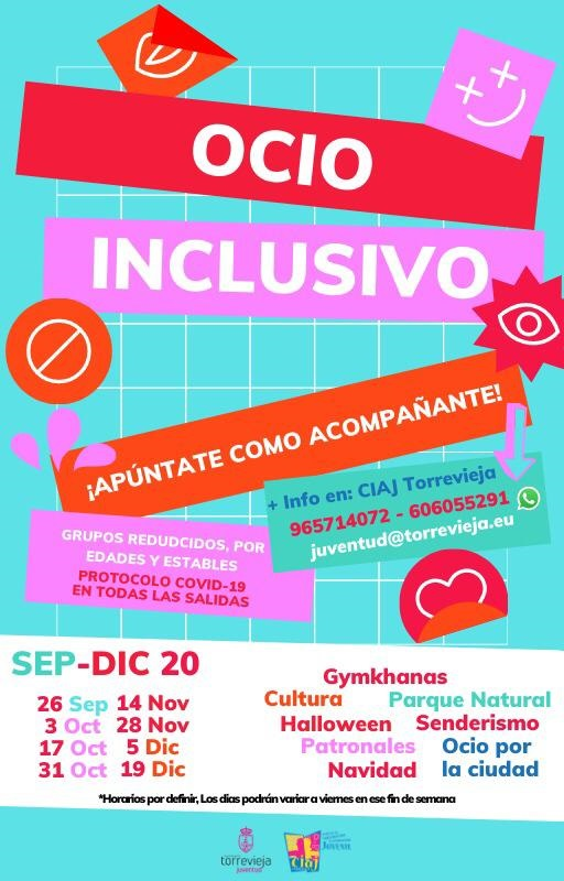 Torrevieja retoma el programa de Juventud 'Ocio Inclusivo' 6