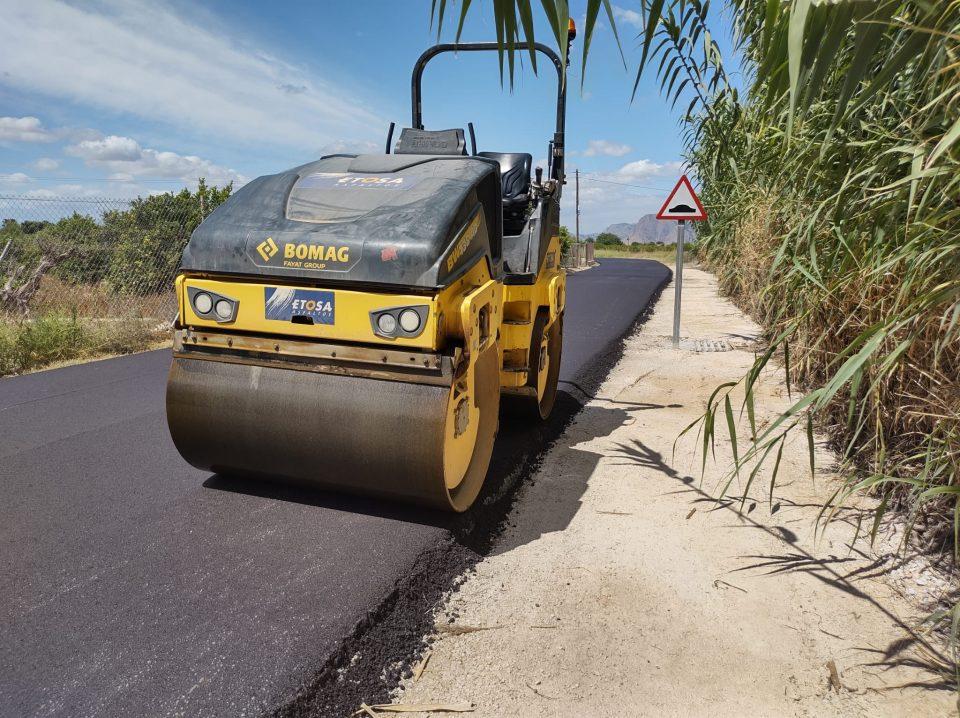 Rafal culmina las obras en cuatro caminos rurales 6