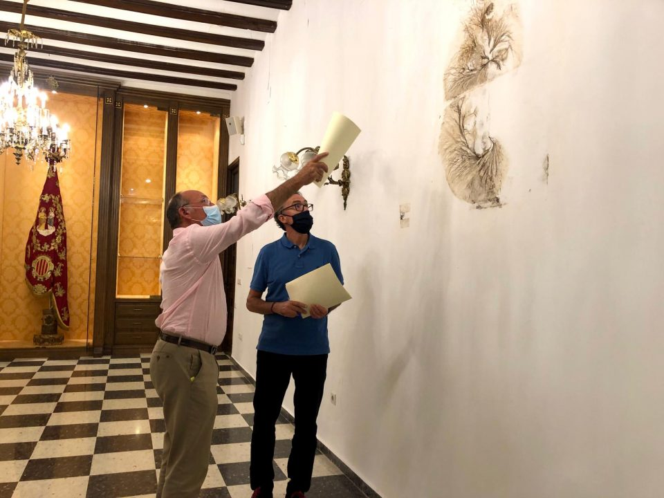 Comienzan la rehabilitación del Ayuntamiento de Orihuela en el Palacio Marqués de Arneva 6