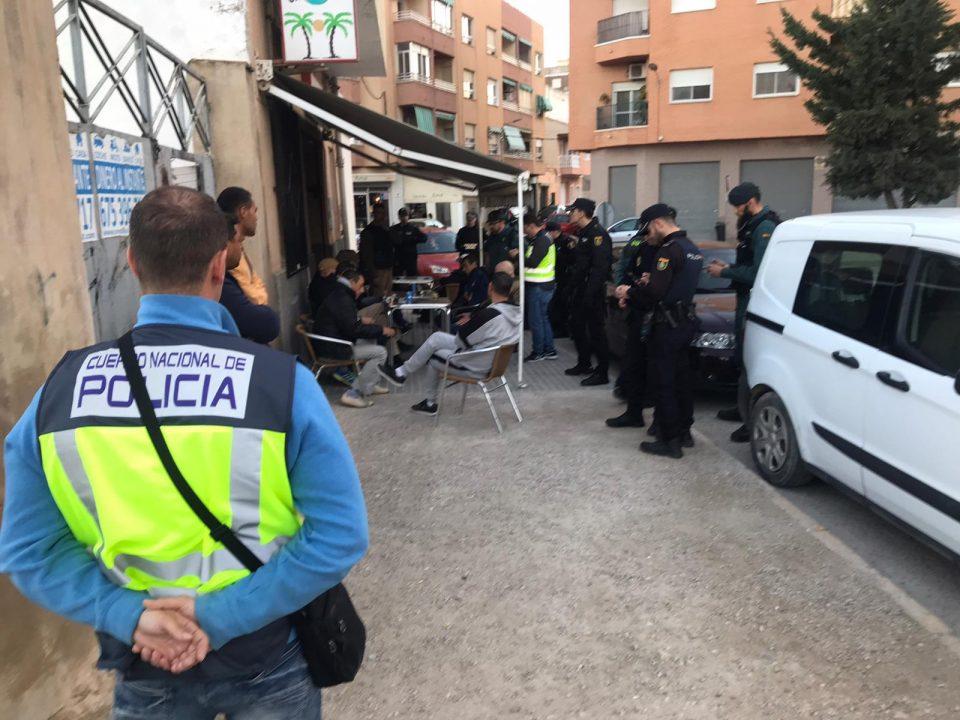 Gran operación con detenidos en Callosa por infracción de la Ley de Extranjería 6