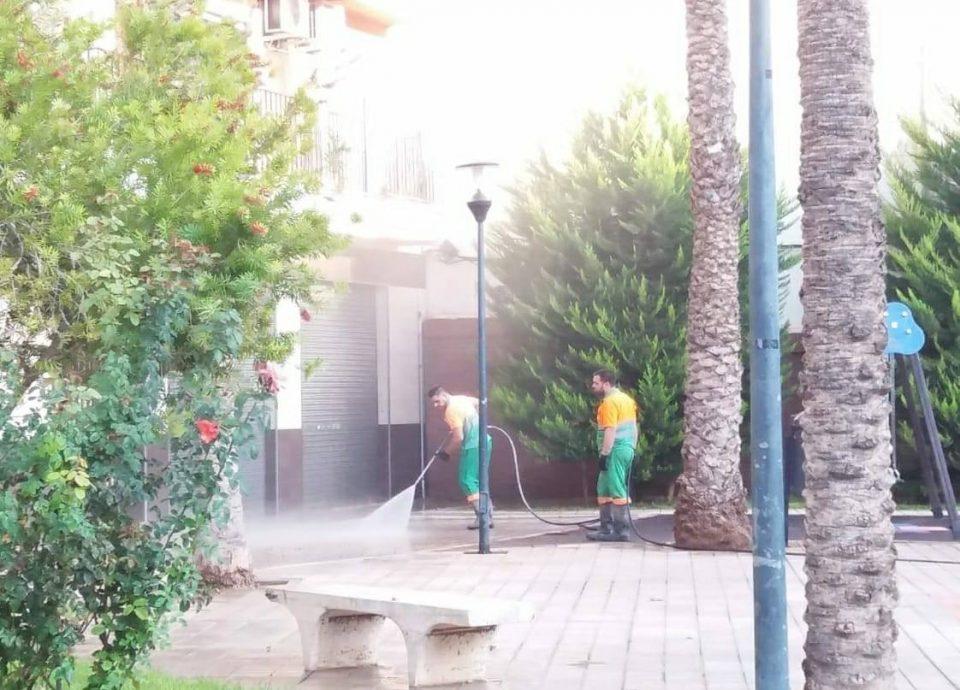 Limpieza Viaria Orihuela trabaja para restablecer la normalidad en el servicio 6