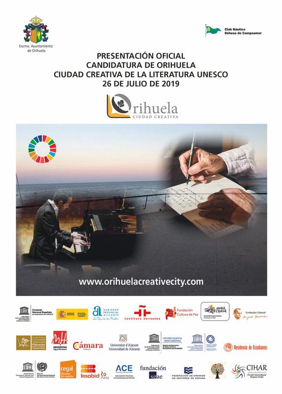 Orihuela presenta hoy oficialmente su candidatura a Ciudad Creativa 6