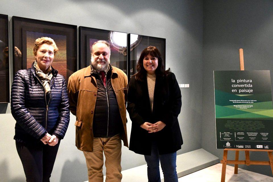 """El Palacio Sorzano de Tejada acoge la exposición """"La pintura convertida en paisaje"""" 6"""
