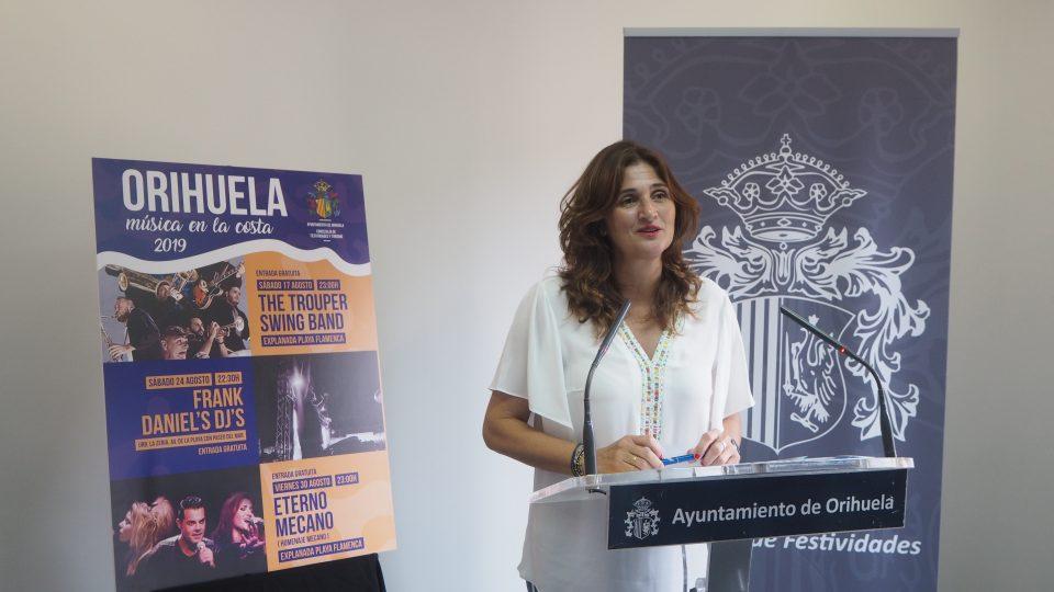 Orihuela Costa acogerá conciertos gratuitos los fines de semana de agosto 6