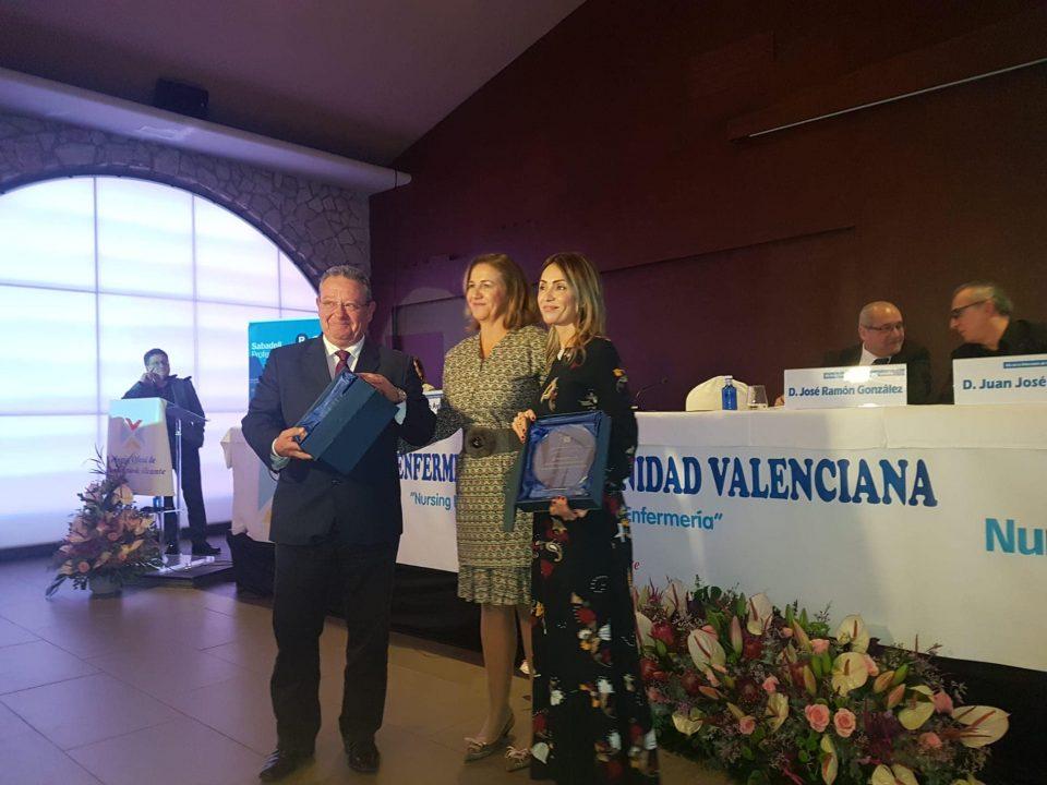 El Colegio de Enfermería de Alicante reconoce al Dpto. de Salud de Orihuela por su labor durante la DANA 6