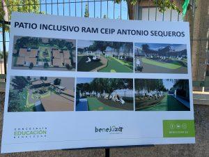 Benejúzar remodelará la escuela infantil y convertirá en inclusivo el patio de CEIP Antonio Sequeros 8