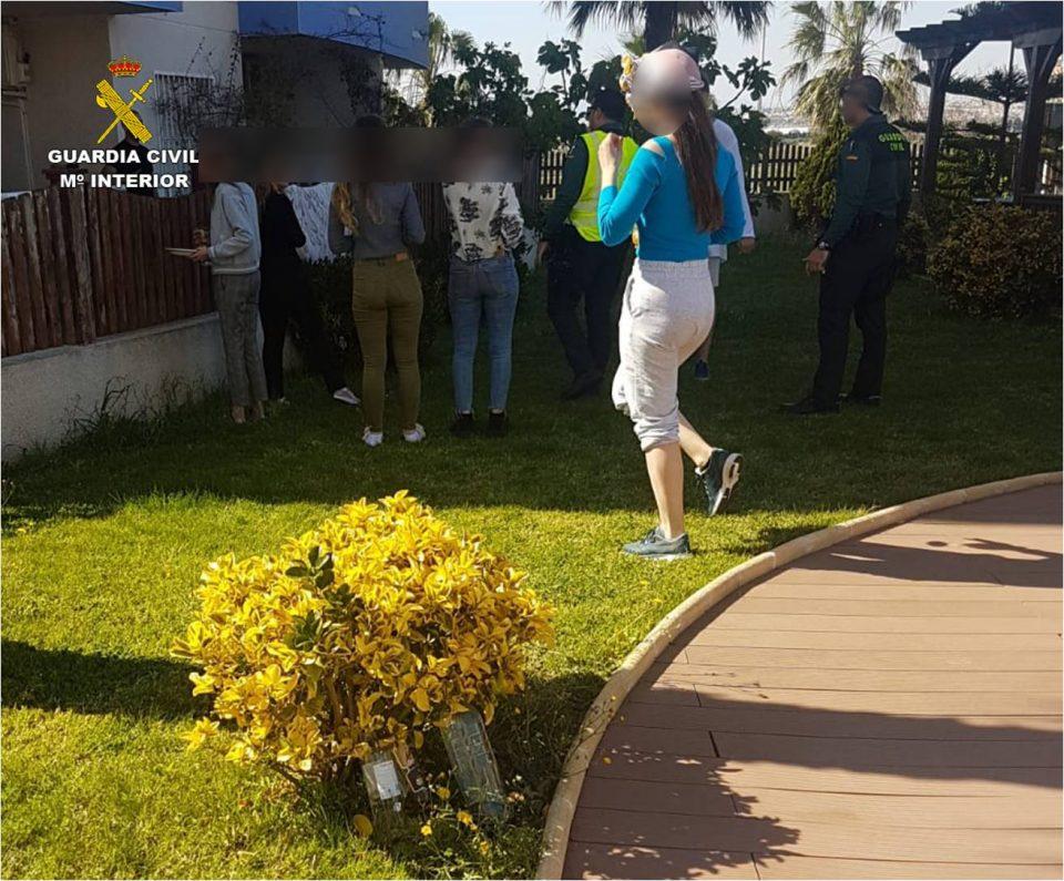 Denunciadas 7 personas por hacer una fiesta en Guardamar 6