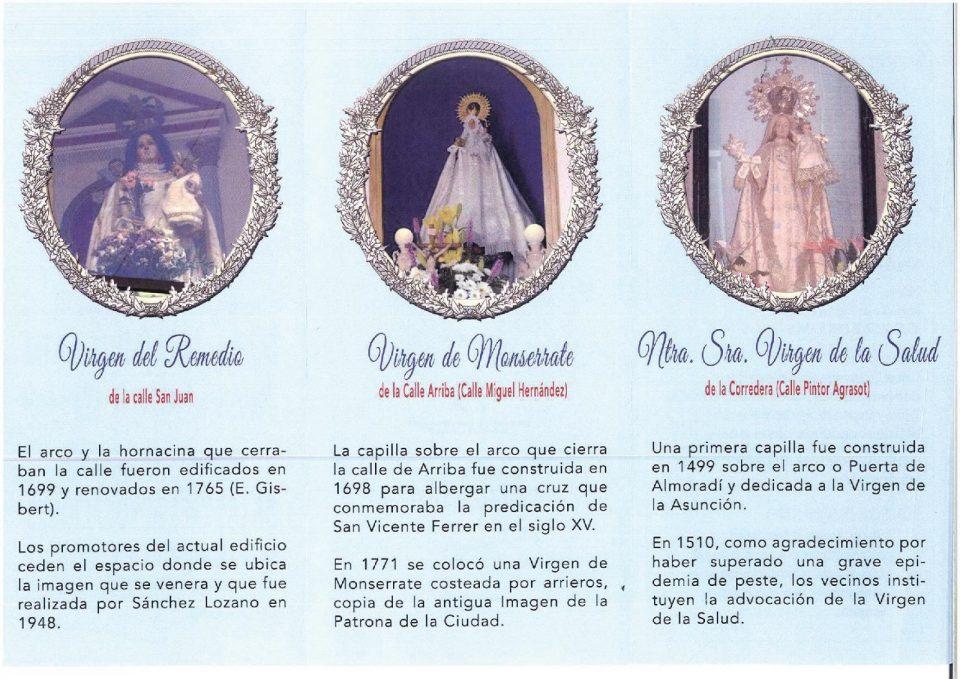 Orihuela acoge el I encuentro de tres advocaciones de la Virgen María 6