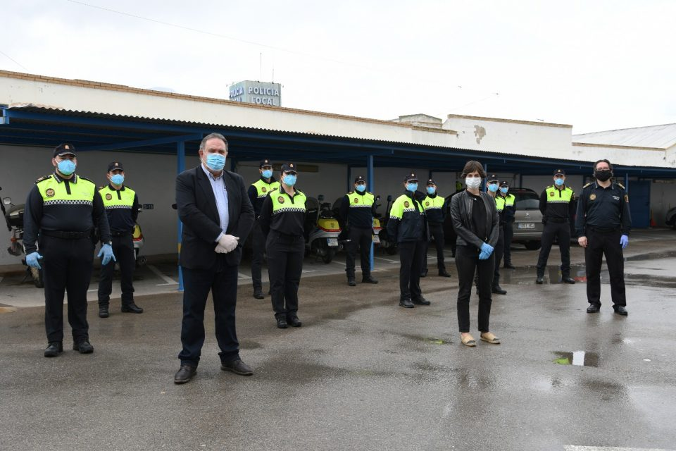 La Policía Local de Orihuela da la bienvenida a los nuevos agentes 6