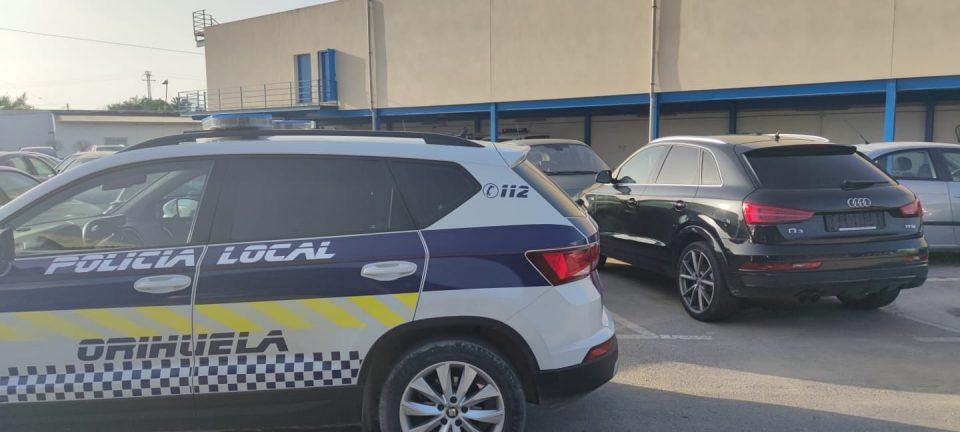 Detenidos dos hombres en Orihuela por el robo de un coche de alta gama en Holanda 6